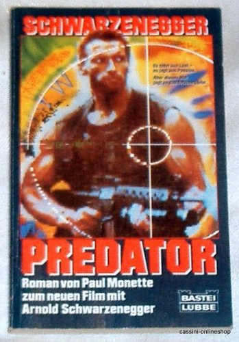 Predator: Roman zum neuen Film mit Arnold Schwarzenegger