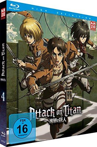Attack on Titan - Staffel 1 - Vol. 4 - [Blu-ray] [Limited Edition]