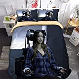 3D Digitaldruck Duvet Cover Set Bettbezug Tagesdecke Bettwäsche-Set -Marvels Agenten von SHIELD4-Doppel: 1 Bettbezug + 2 Kissenbezüge Doppel (200x200cm) Bettdeckenbezug milbendicht Bettbezug Bettwäsc