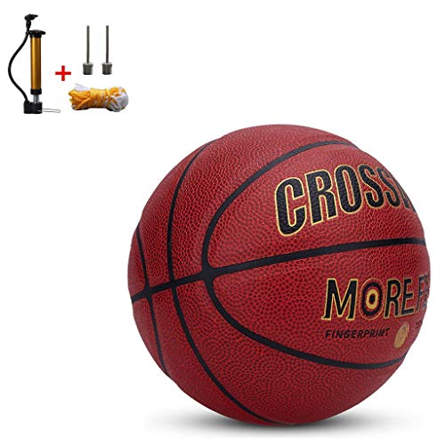 Purchase YONGMEI Standard Basketball No. 7 Size 9.7 inches (24.6 cm),Training Basketball,with Pump (...