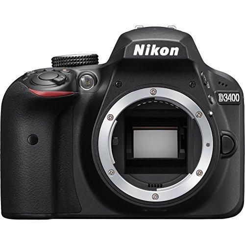 Nikon D3400 Digital SLR Camera Body (Black) - (Renewed)
