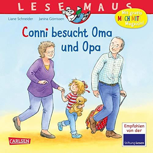 LESEMAUS 69: Conni besucht Oma und Opa (69)