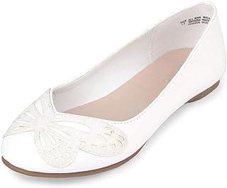 حذاء باليه مسطح بتصميم الفراشة من ذا تشيلدرنز بليس