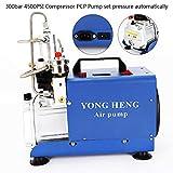 Yiiiby Bomba de aire de alta presión eléctrica 300BAR 30MPA 4500PSI Compresor de aire PCP para automóviles Botella de inmersión Industrial Rifle Inflator