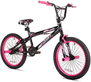 bmx pink and black