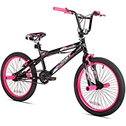 top rated Bicycle KENT 20 ″ Trouble for Girls BMX, 42031, Black / Pink 2021