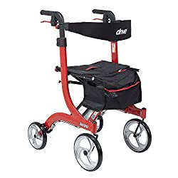 Drive Medical Nitro Euro Style Rollator Walker, Tall is definitely out top choice when it comes to the best rollator walker for a tall person