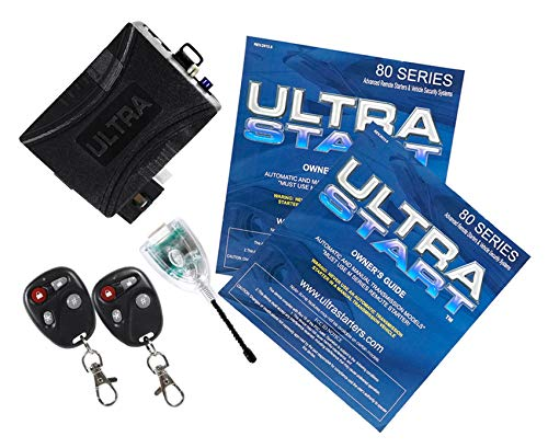 Ultrastart U1280-DP 2800 Ft Foot Car Remote Starter Keyless Entry Ultra Start