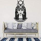 jiushivr Diosa egipcia Antigua Etiqueta de la Pared Reina egipcia Calcomanías...