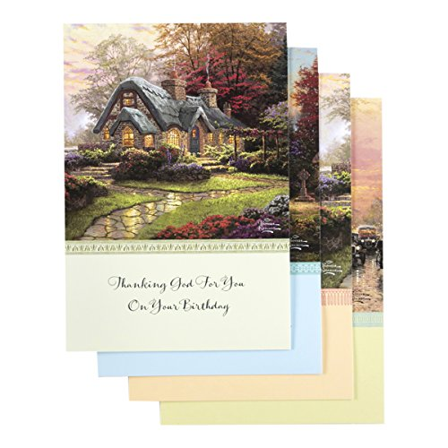 DaySpring - Thomas Kinkade - Inspirational Boxed Cards - Birthday - Birthday Blessings - 51723