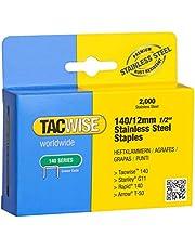 Tacwise 140/12 mm rostfritt stål häftklammer för häftvapen (låda med 2000)