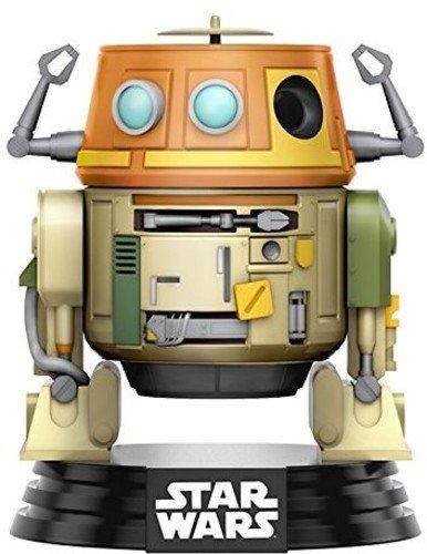 Funko 10771 POP Bobble: Star Wars: Rebels: Chopper, Orange, Einheitsgröße