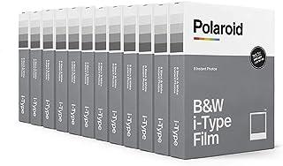 Polaroid Originals Black & White Film for I-Type, 12 Pack, 96 Photos (6090)