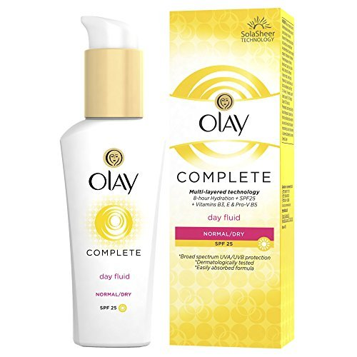 Olay Complete 3-in-1 Lightweight Day Fluid SPF25 Moisturiser, 75 ml by Olay