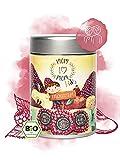 Mom to Mom® Kinder Bio Früchtetee lose - Der Kindertee für unsere Liebsten (Früchte Tee & Erdbeer Tee) 130g Loser Tee (Früchtetraum)