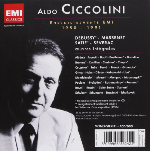 Aldo Ciccolini Enreg.Emi 50-91 (Box56Cd)