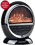 Chauffage cheminée design | électrique | noir moderne