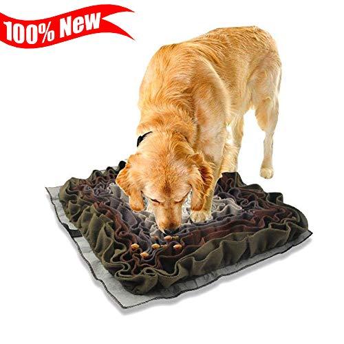 CSPone Schnüffelteppich für Hunde und Katze Schadstofffreies Hundespielzeug Intelligenzspielzeug für Hunde Dog Spiel Hundespielzeug Intelligenz Langlebig und maschinenwaschbar