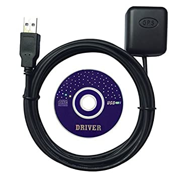 Generic USB GPS Receiver G-Mouse GPS Mouse Within GPS Module Antenna for Car Laptop PC Navigation Support Google Earth and MS Trips App