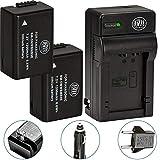 2 Pack of DMW-BMB9 Batteries and Battery Charger for Panasonic Lumix DC-FZ80, DMC-FZ40K, DMC-FZ45K, DMC-FZ47K, DMC-FZ48K, DMC-FZ60, DMC-FZ70, DMC-FZ100, DMC-FZ150 Digital Camera