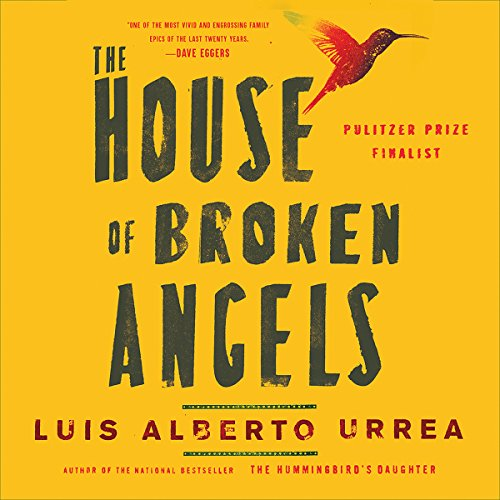 The House of Broken Angels audiobook cover art