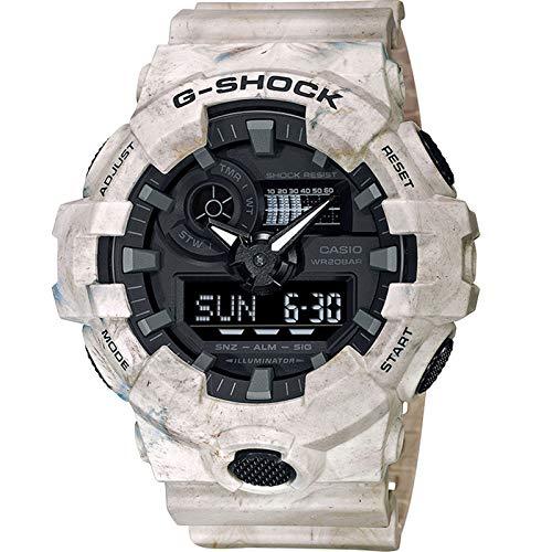 Casio G-Shock By Men's GA700WM-5A Analog-Digital Watch Beige