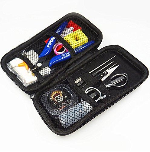 DIY-V2-Mini-Werkzeug-SetvonGeekVape mit multifunktionaler Pinzette aus Keramik - ideal für DIY-Zerstäuber - RDA/RTA/RBA, schwarz