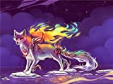Puzzle de madera para adultos 1000 piezas, Spirit Fox Tangram Puzzle Ocio Juego creativo Toy Q