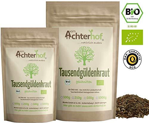 Tausendgüldenkraut Tee Bio (100g) lose geschnitten Tausendgüldenkrauttee