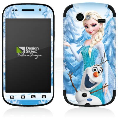 DeinDesign Samsung Nexus S Google Folie Skin Sticker aus Vinyl-Folie Aufkleber Disney Frozen ELSA & Olaf Geschenke Merchandise