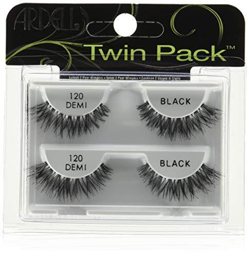 Ardell Twin Pack Lash 120 künstliche Wimpern aus Echthaar, das Original für perfekte Lashes, black (1x) wiederverwendbare ulraleichte künstliche Wimpern aus Echthaar