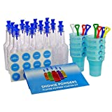 SNOWIE - Ultimate Shaved Ice Party Pack - Snow Cone Syrups With Bottles, Cups and Snowie Shovels