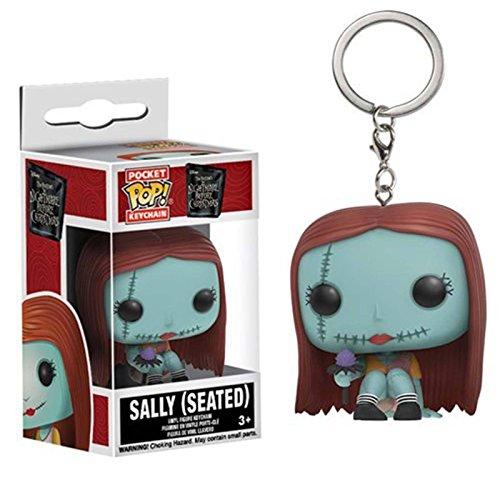 Pocket POP! Keychain: Disney: Pesadilla antes de Navidad: Sally