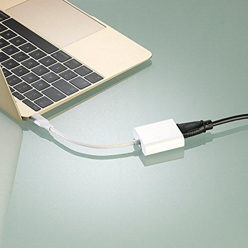 Callstel USB Type C HDMI Adapter: Adapter USB-C-Stecker auf HDMI-Buchse (TV Adapter)