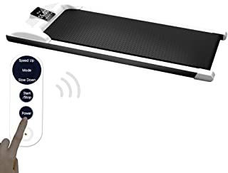 ETE ETMATE Under Desk Treadmill Digital Electric Portable Walking Pad Smart Slim Fitness Jogging Training Cardio Workout with LED Display & Wireless Remote Control for Home Office