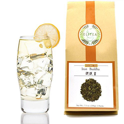 ELITEA Prime Quality Oolong Tea Loose Leaf Monkey Picked, Tie Guan Yin Famous Chinese Tea Bulk 7.1 Ounce Bag