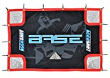 Base 74631 Accushot - Red para portería de Hockey (Incluye Funda y Correas elásticas), Color Negro, Rojo y Azul