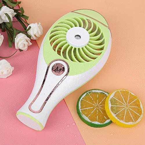 FOLOSAFENAR Mini Ventilador de refrigeración Fuerte Viento Recargable Mini Ventilador USB portátil Personal Ventilador de refrigeración de Escritorio portátil para Acampar Oficina en casa Viajes al