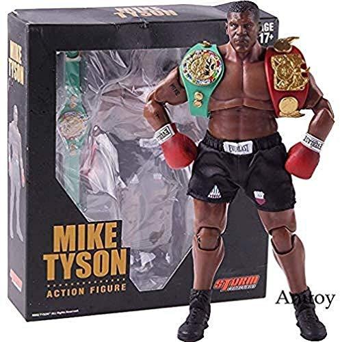 König des Boxens Mike Tyson Figur Boxer mit 3 Köpfen Sculpts Scale 1/12 Actionfigur Storm Collectibles Model Toy