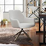 Volans Modern Mid Century Swivel Faux Leather Home Office Chair No...