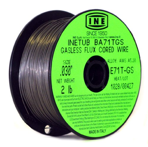 Product Image of the INETUB BA71TGS .030-Inch on 2-Pound Spool Carbon Steel Gasless Flux Cored Welding Wire