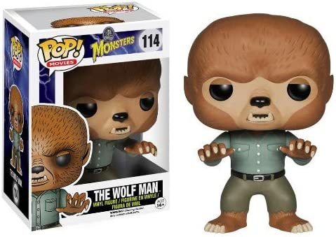 Funko Pop Universal Monsters The Wolf Man Vinyl Figure Bundled with Pop Box Protector CASE product image