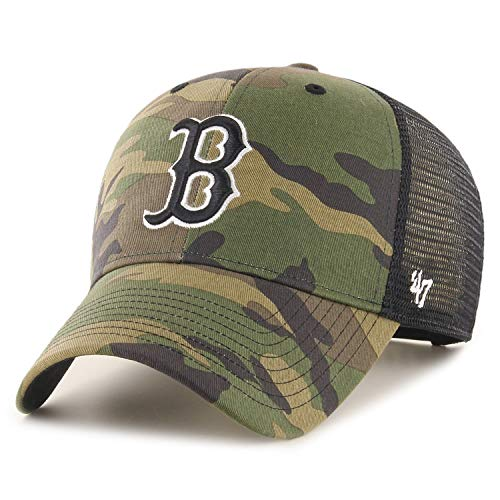 '47 Brand Gorra Trucker Camo MVP Red SoxBrand de Beisbol Baseball (Talla...