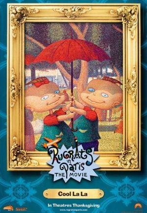 Poster da parete Rugrats In Parigi: The Rugrats Movie 2 – US Imported Movie Print – 30 cm x 43 cm