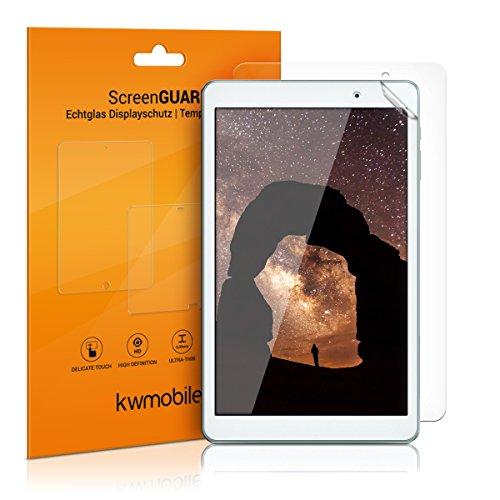kwmobile 2X Protector de Pantalla Compatible con Huawei MediaPad T2 10.0 Pro - Salvapantallas Transparente para Tablet