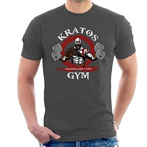 Kratos Gym Training Like A God of War Mens T-Shirt