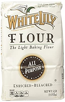 White Lily All Purpose Flour - 5 LB(80 .OZ) pack of 2 - SET OF 4