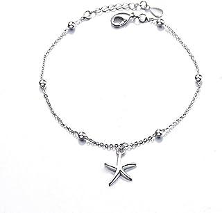 YAZILIND Platinum Plated Bracelet Heart to Heart Shape Adjustable Link Bracelet Party Jewelry