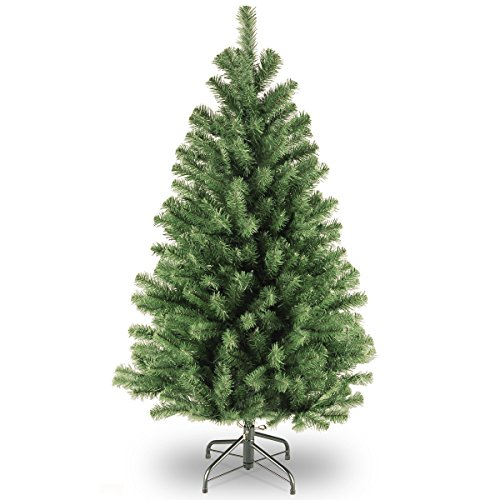 National Tree Company Artificial Christmas Tree | Includes Stand | North Valley Spruce - 4.5 ft
