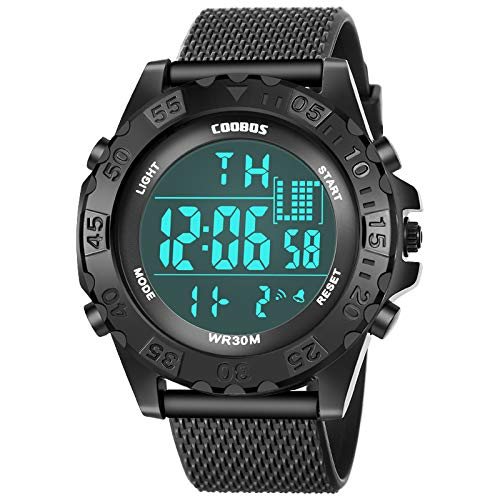 Orologi sportivi da uomo delle migliori marche Orologio da polso digitale elettronico militare Orologio con data impermeabile Visualizzazione sveglia Orologio horloges mannen
